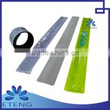 pvc reflective slap band wristband for promotional gifts                                                                         Quality Choice