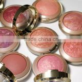 Baked blusher & Oem blush! wholesale powder blush, long lasting, face blushes, blush compact, cosmetics for cheek