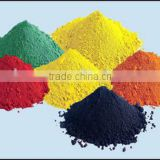iron oxide price red/yellow/black/brown chemicals color powder pigments used in paints/paving