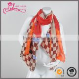 2016 New Women's Imitated Silk Ribbon Small Neck Scarf