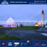 Wholesale price 850g/sqm PVC fabric coated roof cover 10 x 20 wedding canopy tent 100 seater party tent for sale