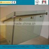 Alibaba golden supplier for 11 years popular design aluminium glass balustrade with high quality GM-C275