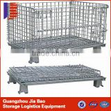 .Industrial Stackable Wire Mesh Storage Cage /Stainless Steel Pet Cages/ Cages (Factory)