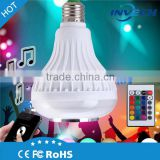 modern design relaxing hot sale remote control rechargeable led bulb light with low cheap price