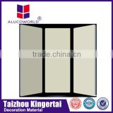 Alucoworld self cleaning nano acp building facade materials
