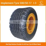 500/50-17 Reliable Price Agricultural Implement Tyre                                                                         Quality Choice