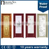 Aluminium waterproof WC door for bathroom and kitchen                                                                         Quality Choice