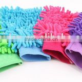 Homesolution household cleaning product microfiber cleaning glove, household cleaning cotton gloves