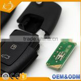 Cheap 3 Button Folding Blank Car flip key with 4D60 chip 434mhz Need program For Ford Mondeo s-max