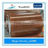 2015 new wood grain ppgi in coils/design ppgi steel sheet in coils for interior door and Sandwich board in Zhejiang China
