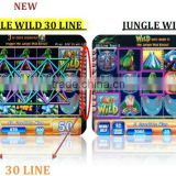JUNGLE WILD New30 Line or 20 Line WMS NXT game