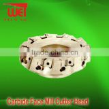Carbide Cutter Head for Face Mill