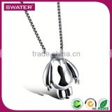 Christian Products Wholesale Steel Bear Fine Necklace Jewelry