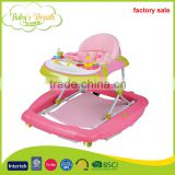BW-15 wholesale hot selling new model round baby walker with washable cushion