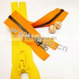 Color No.10 Metal Zipper With Slider