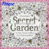 Hot Sale English Secret Garden, An Inky Treasure Hunt And Coloring Book For Adult,Wholesales Secret Garden Book