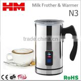 110V Automatic Electric Milk Frother & Warmer Household Use for Coffee Foam Maker GS/CE/LFGB/FDA , Model N3
