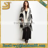 Lady linen poncho shawl wholesale