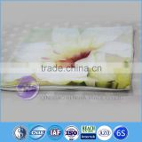 sublimation printed polyester 210D oxford anti-uv cushion cover
