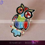 2013 New Products Alloy Ring Fashion Colour Oil Drip Owl Rings Jewellery For Young Women