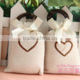Best choice embroidery scented clothing linen sachet for wardrobe