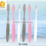 Cheap hotel disposable toothbrush and toopaste in one/Travel and SPA toothbrush for guest/Hotel amenities