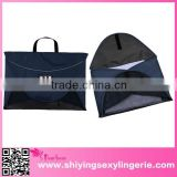 slim Shirt Packing Folder Tote Navy Travel bag with handle