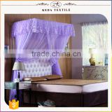 Alibaba home collection 100% polyester fabric king queen double single size China supplier wholesale mosquito nets