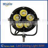 Wholesale Aluminum Alloy housing 50w headlight heavy mining 3500lm atv led driving light
