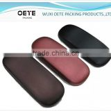 Eyeglasses case manufactory is professional in producing PU wrapped metal optical case