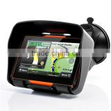 "Waterproof 4.3 ""Car Motorcycle GPS Navigation Navigator Windows CE6.0 8GB Flash Memory with free gps Map FM T/Bluetooth"