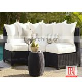 comfortable sofa set European design brown ratten garden outdoor furniture