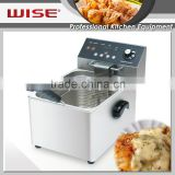 Most Popular Electric 8L Deep Fryer Thermostat Restaurant Use