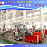 PVC marble board making machine/PVC marble board profile line/PVC stone sheet extrusion line