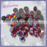 Light Siam AB Preciosa Crystals Wholesale,Flat back Hotfix Rhinestones