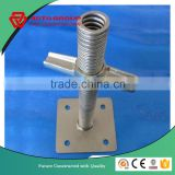 Hot dipped galvanized hollow section universal jack base