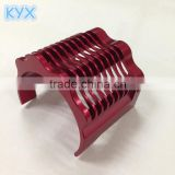 billet machined rc car accessories motor heat sink red