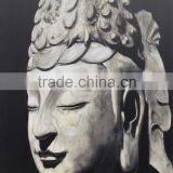 Home Decoration Printed Printing Modern Art Buddha Face Oil Painting