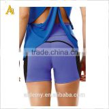 Custom Running spandex/cotton Short Design Marathon Training Gym Yoga Shorts