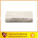 Grey Wooden vein marble soap dishes and tray 15*12*3cm