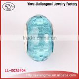 Alibaba Hot Sale European handcrafted 925 lampwork cheap murano glass beads jewelry crystal beads