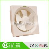Bathroom Kitchen Full ABS Plastic Square/Round Ventilation Exhaust Fan / Window Ceiling Mounted Ventilation Extractor Size