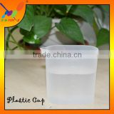 Plastic cup for measuring water or other liquid capacity Low price durable 150ml PP Plastic counting Cup