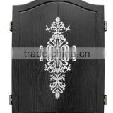 High quality beautiful cabinet wooden Dartboard case