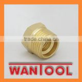 Brass male brake nipple adapter fittings brake hose fitting air brake
