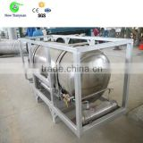 LNG Cryogenic Automobile Cylinder, LNG Vehicle Cylinder with Vacuum Mulit-layer Thermal Insulation