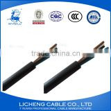 Copper conductor PVC insulated automotive control cable control cable 2x10mm2