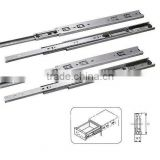 1801 45mm 3 folding ball bearing drawer slide rail