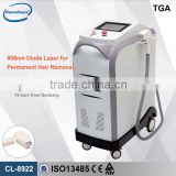 Professional Permanent Laser Hair Loss CE approved 808nm Diode laser hair hair removal skin treatment machine CL-8922