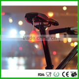Fashion brilliant led bicycle brake light led star light focus light